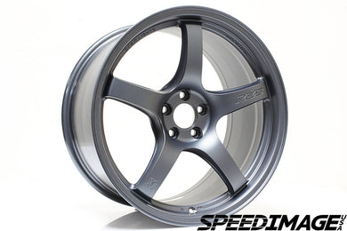 Rays Gramlights - 57CR Wheels - 18x10.5 +22mm 5x114.3 - Gun Blue 2 - Each Wheel