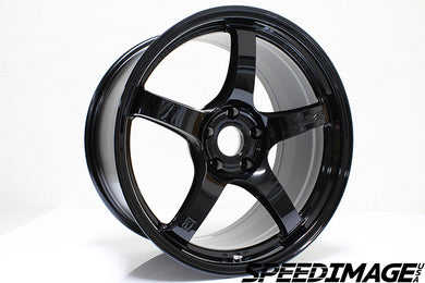 Rays Gramlights - 57CR Wheels - 18x10.5 +22mm 5x114.3 - Glossy Black - Each Wheel