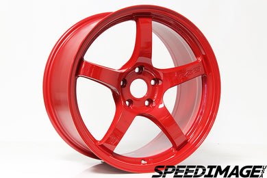 Rays Gramlights - 57CR Wheels - 18x9.5 +38mm 5x120 - Milano Red- Each Wheel