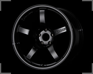 Rays Gramlights - 57CR Wheels - 18x8.5 +50mm 5x114.3 - Glossy Black - Each Wheel
