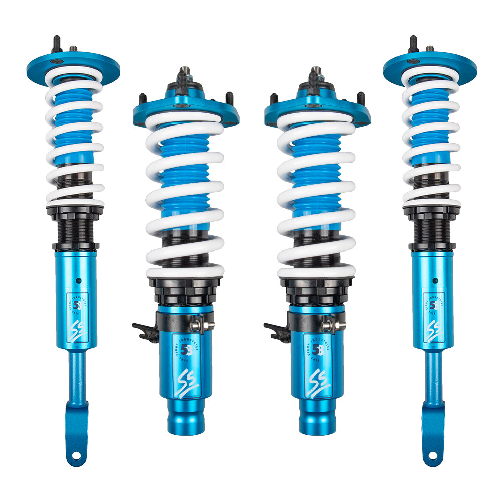 Five8 58 Industries - SS Height Adjustable Coilovers - Honda Prelude 1992-2001