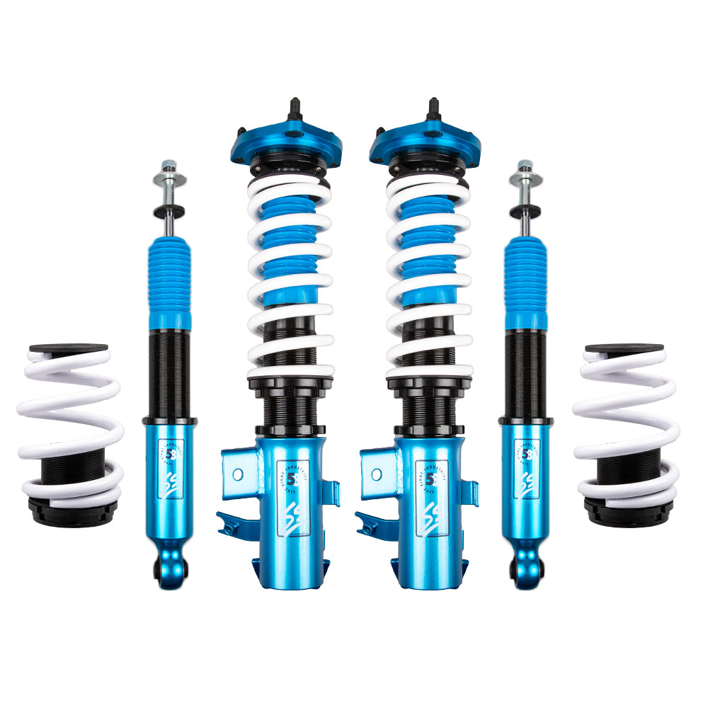 Five8 58 Industries - SS Height Adjustable Coilovers - Honda Civic SI 2014-2015