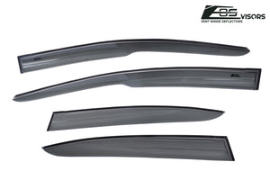 EOS - Side Window Visor Deflectors - Honda Civic 2006-2011 Sedan 4 Door
