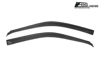 EOS - Side Window Visor Deflectors - Honda Prelude 1997-2001