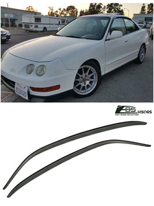EOS - Side Window Visor Deflectors - Acura Integra 1994-2001 Sedan 4 Door