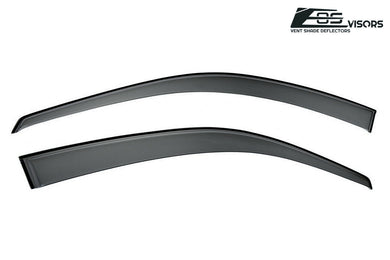 EOS - Side Window Visor Deflectors - Honda Civic 1996-2000 Coupe 2 Door