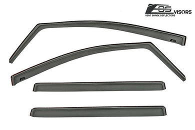EOS - In Channel Side Window Visor Deflectors - Toyota Sienna 2011-2019