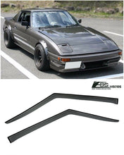 EOS - Side Window Visor Deflectors - Mazda RX-7 1978-1985