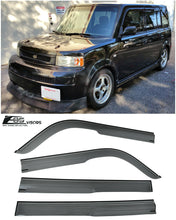 EOS - Side Window Visor Deflectors - Scion XB 2004-2007