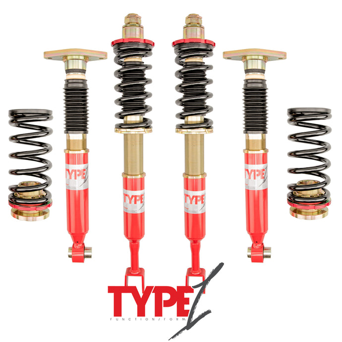 Function and Form - Type 1 Coilovers - Audi A4 2002-2008