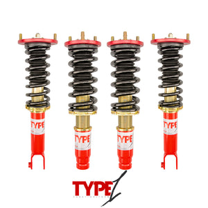 Function and Form - Type 1 Coilovers - Honda Accord 1990-1997