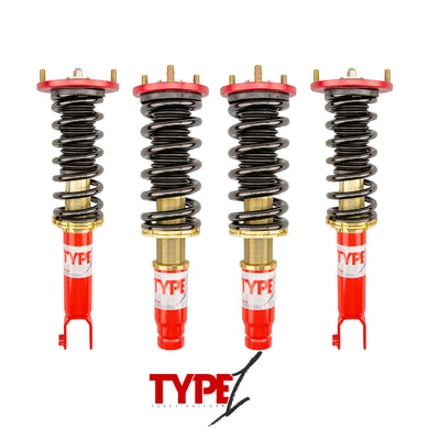 Function and Form - Type 1 Coilovers - Acura CL 1997-1999