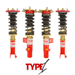 Function and Form - Type 1 Coilovers - Acura TLX 2015-2020