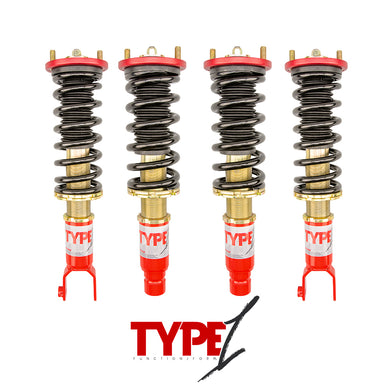 Function and Form - Type 1 Coilovers - Honda Civic 1992-1995 / Del Sol 1993-1997