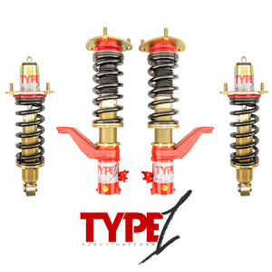 Function and Form - Type 1 Coilovers - Honda Civic 2001-2005