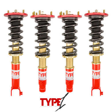 Function and Form - Type 1 Coilovers - Honda Accord 2008-2012