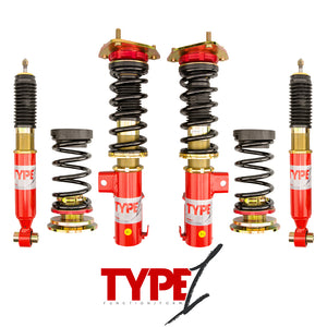 Function and Form - Type 1 Coilovers - Hyundai Genesis Coupe 2009-2010