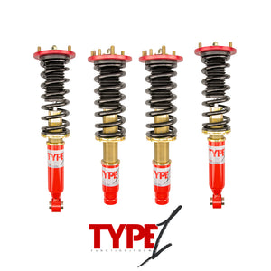 Function and Form - Type 1 Coilovers - Acura TSX 2004-2008