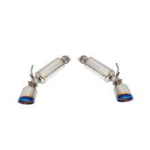 Remark - Version 1 Axleback Muffler Delete - Nissan 370Z 2009-2020 - Double Wall Burnt Stainless Tip