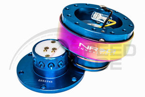 NRG - Quick Release - Gen 2.0 - New Blue Body / Neo Chrome Ring
