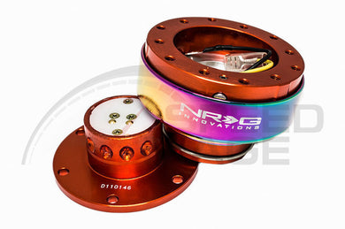 NRG - Quick Release - Gen 2.0 - Orange Body / Neo Chrome Ring