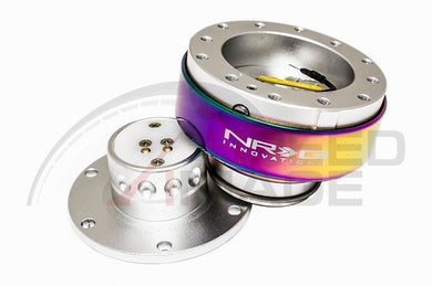 NRG - Quick Release - Gen 2.0 - Silver Body / Neo Chrome Ring