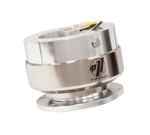 NRG - Quick Release - Gen 2.0 - Shiny Silver Body / Brushed Silver Ring
