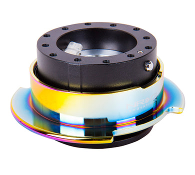 NRG - Quick Release - Gen 2.5 - Black Body / Neo Chrome Ring