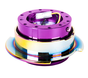 NRG - Quick Release - Gen 2.5 - Purple Body / Neo Chrome Ring