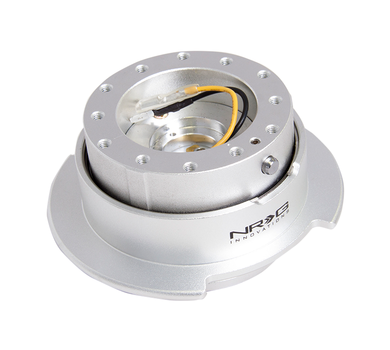 NRG - Quick Release - Gen 2.5 - Silver Body / Silver Ring