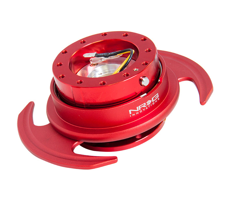 NRG - Quick Release - Gen 3.0 - Red Body / Red Ring