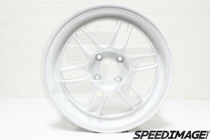 356 Wheels - TFS301 15x7 +35 4x100 67.1 Hub - Set of 4 Wheels - White