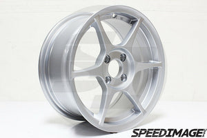 356 Wheels - TFS401 15x7 +35 4x100 67.1 Hub - Set of 4 Wheels - Silver