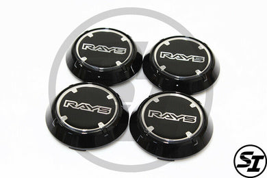 Rays Gramlights - GL WR Center Caps - For 57DR / 57CR - Black - Set of 4