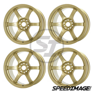 Rays Gramlights - 57DR Wheels - 18x9.5 +38mm 5x120 - E8 Gold - Each Wheel