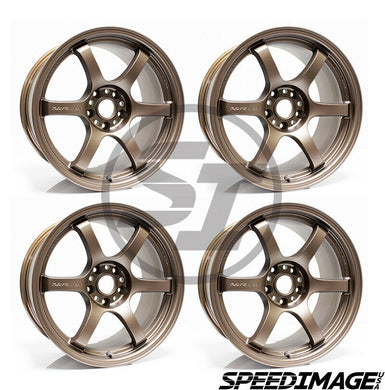 Rays Gramlights - 57DR Wheels - 18x9.5 +38mm 5x120 - Bronze - Each Wheel