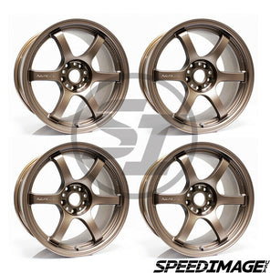 Rays Gramlights - 57DR Wheels - 18x9.5 +38mm 5x114.3 - Bronze - Each Wheel