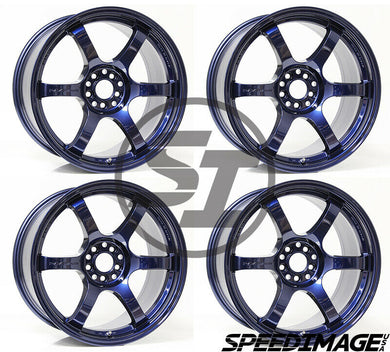 Rays Gramlights - 57DR Wheels - 18x9.5 +38mm 5x114.3 - Eternal Blue Pearl - Each Wheel