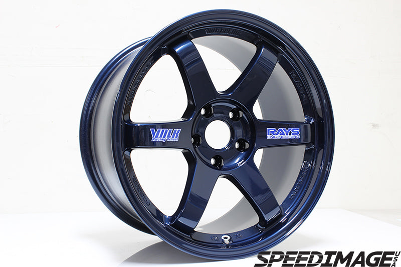 Volk Racing - TE37 OG Wheels - 18x9.5 +22mm 5x100 - Mag Blue - Set of 4 Wheels