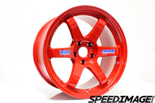Volk Racing - TE37 OG Wheels - 18x9.5 +22mm 5x100 - Red - Set of 4 Wheels