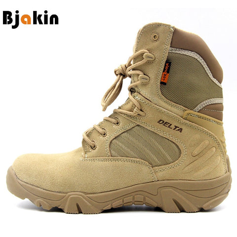 DELTA Professional Waterproof Outdoor Boots