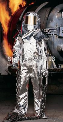 1000'C 1832'F thermal radiation protection suits