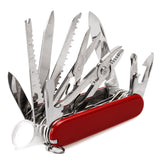 30 in 1 Multifunctional Swiss Folding Survival Knife