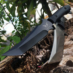 Fixed Blade Knife. Hunting and survival tool
