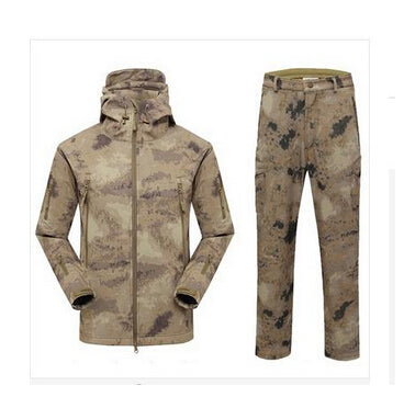 TAD V 4.0 Softshell Jacket & Pants. Windproof & Waterproof