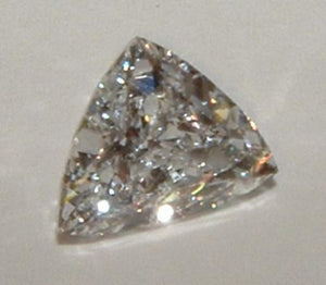 Trilliant cut loose diamond triangle diamond 0.50 carat