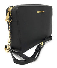 Load image into Gallery viewer, Michael Kors Women's Jet Set Item Crossbody Bag No Size (Black)
