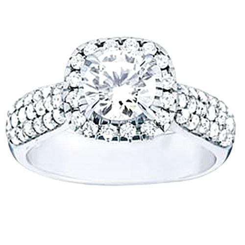 White Gold 14k SI1-SI2  Approx. 1.70 carat diamond Ring
