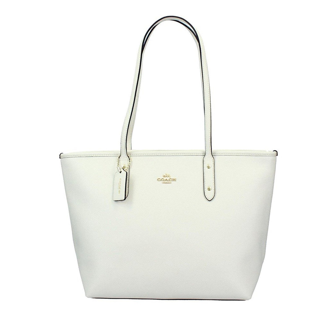 Coach Women's Signature City Zip Tote No Size (Im/Chk)