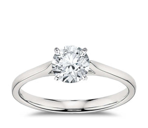 White gold 14k gorgeous round cut 1.90 carat diamond Anniversary ring